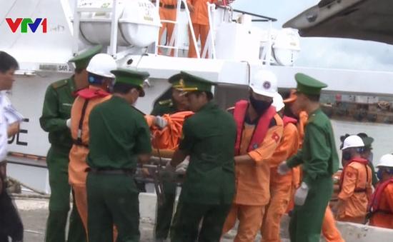 Tìm thấy 1 thi thể thuyền viên mắc kẹt trong tàu VTB 26