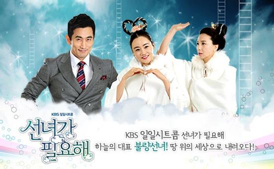 Phim Hàn Quốc Tiên nữ giáng trần lên sóng VTV9
