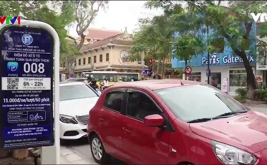 Hà Nội mở rộng mô hình trông xe qua điện thoại di động