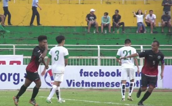Vòng loại U23 châu Á 2018: U23 Timor Leste đại thắng trước U23 Macau TQ
