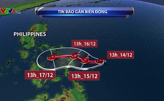 Xuất hiện bão Kai-Tak gần Biển Đông