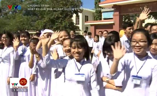 Tình cảm của người hâm mộ Bình Định dành cho giải xe đạp quốc tế VTV Cúp Tôn Hoa Sen 2017