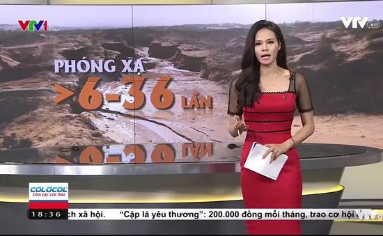 Cảnh báo nhiễm phóng xạ từ khai thác titan ở Bình Thuận