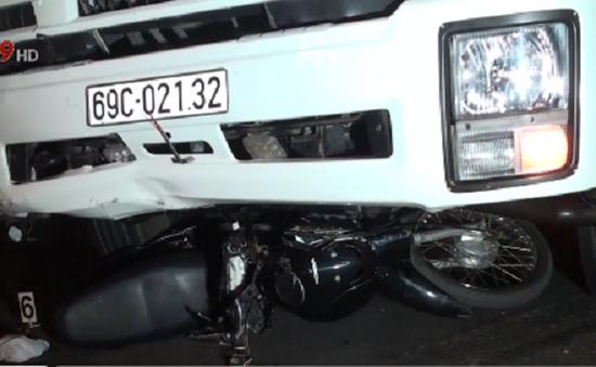 Tai nạn nghiêm trọng tại Cà Mau, 2 người trọng thương
