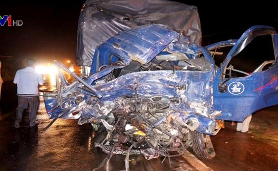Tai nạn ô tô liên hoàn ở Gia Lai, 1 người chết, nhiều người bị thương