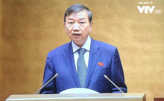 Bộ trưởng Tô Lâm trình bày Tờ trình về dự án Luật Bảo vệ bí mật nhà nước