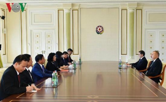 Tăng cường hợp tác Việt Nam - Azerbaijan