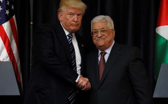 Tổng thống Mỹ hội đàm với lãnh đạo Palestine