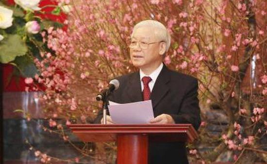 Tổng Bí thư:  Chung sức, đồng lòng thực hiện thắng lợi nhiệm vụ năm 2017
