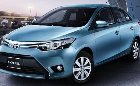 """10 mẫu xe bán chạy nhất tháng 1/2017: Toyota Vios """"mở hàng"""" đầu năm mới"""