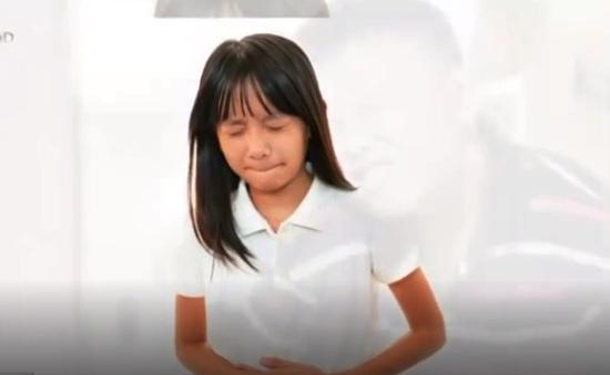 Triệu chứng và cách xử trí đau dạ dày ở trẻ em