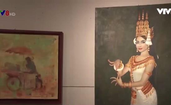 Giao lưu triển lãm mỹ thuật - Kết nối tình hữu nghị Đông Dương