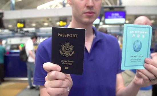Lệnh cấm công dân Mỹ tới Triều Tiên chính thức có hiệu lực