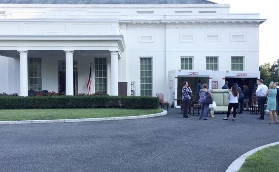 Mỹ: Nhà Trắng bắt đầu quá trình tu sửa