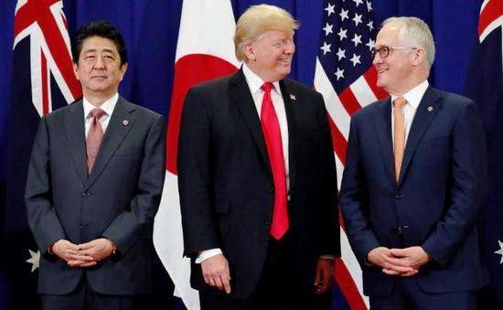 Hội đàm Nhật Bản - Mỹ - Australia