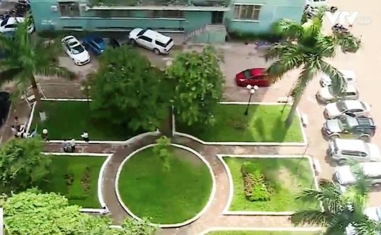 Hà Nội: Người dân Trung Hòa - Nhân Chính phản đối phá dỡ vườn hoa