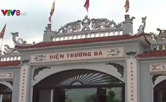 Lễ hội điện Trường Bà được công nhận Di sản văn hóa phi vật thể quốc gia