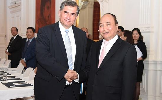 Thủ tướng tiếp Chủ tịch Tập đoàn Vamed