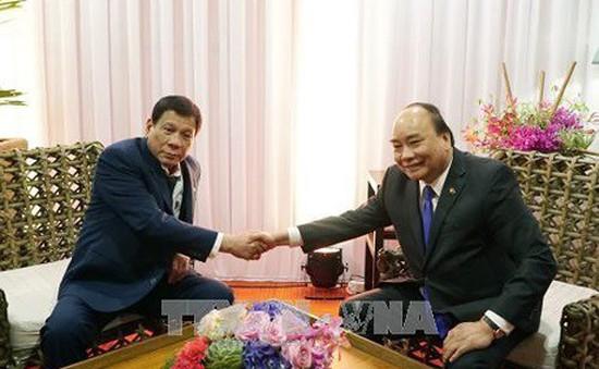 Thủ tướng hội kiến Tổng thống Philippines