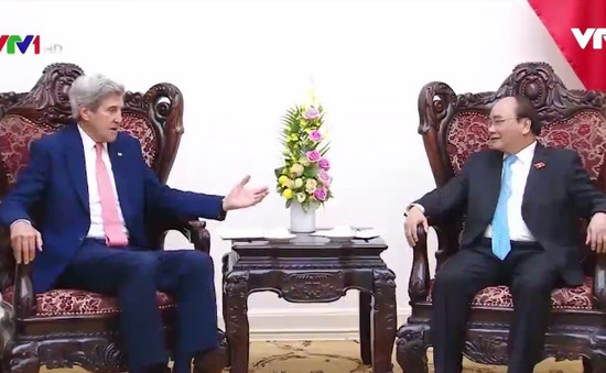 Thủ tướng đề nghị Hoa Kỳ hỗ trợ Việt Nam trong việc ứng phó với biến đổi khí hậu