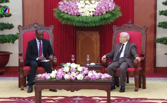 Tổng Bí thư tiếp Thủ tướng Mozambique