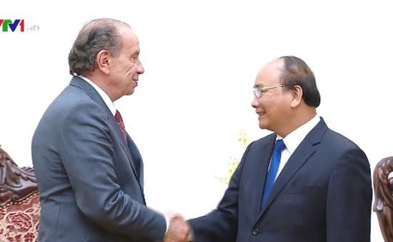 Thủ tướng tiếp Bộ trưởng Bộ Ngoại giao Brazil