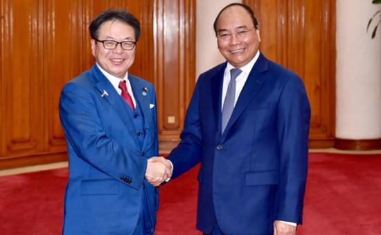 Thủ tướng tiếp Bộ trưởng Bộ Kinh tế, Thương mại và Công nghiệp Nhật Bản
