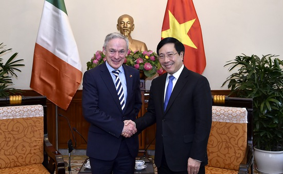 Ireland hỗ trợ Việt Nam 7,5 triệu Euro/năm giai đoạn 2017 - 2020