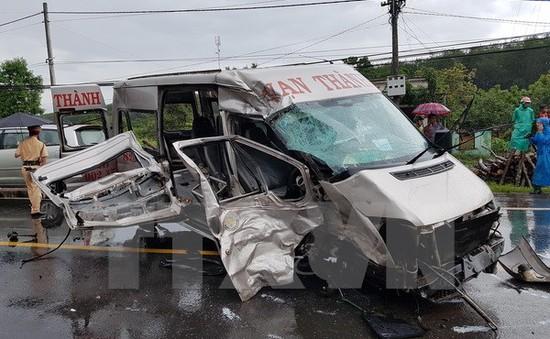 Vụ xe khách đấu đầu trên đường Hồ Chí Minh: Thêm 1 người tử vong