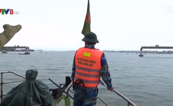 Tuần tra liên ngành trên vùng biển Thừa Thiên - Huế