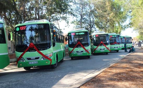 TP.HCM đưa vào sử dụng thêm 4 tuyến xe bus
