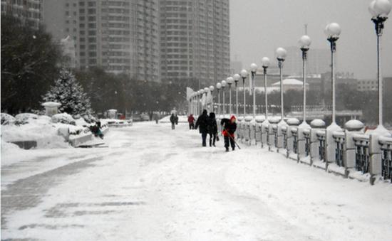 Tuyết rơi sớm, Trung Quốc ban hành cảnh báo