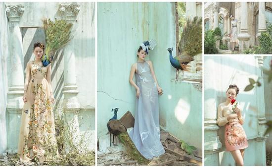 Tuyết Lan Next Top Model quyến rũ trong không gian đẹp tựa cổ tích