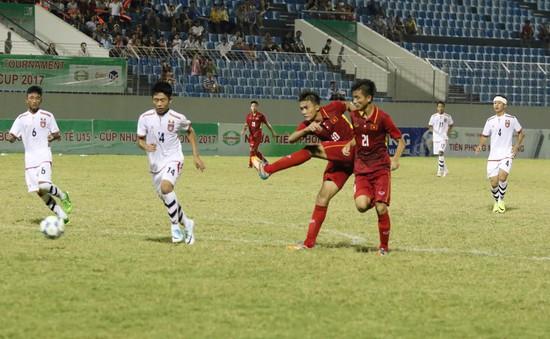 Hành trình của U15 Việt Nam tại giải U15 quốc tế 2017