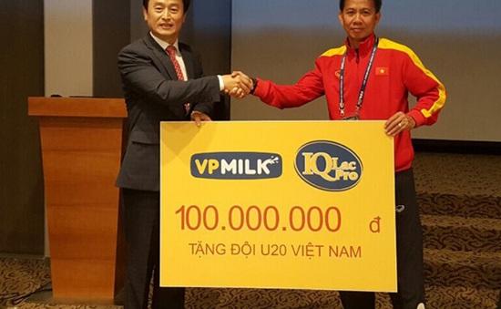 U20 Việt Nam nhận món quà bất ngờ trước ngày khởi tranh FIFA U20 Thế giới 2017