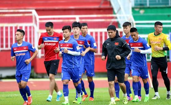 U22 Việt Nam tích cực chuẩn bị cho trận đấu với đội các ngôi sao K-League