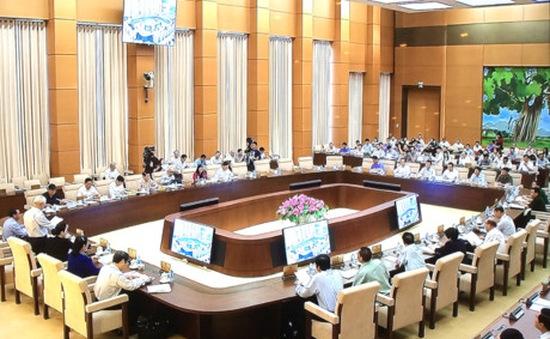 Ủy ban Thường vụ Quốc hội cho ý kiến về công tác phòng, chống tham nhũng