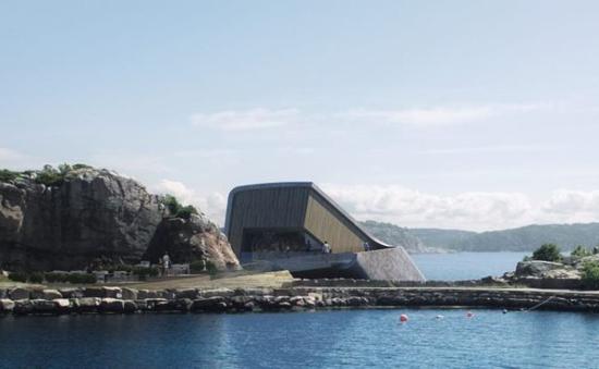 Nhà hàng dưới biển đầu tiên của châu Âu tại Na Uy