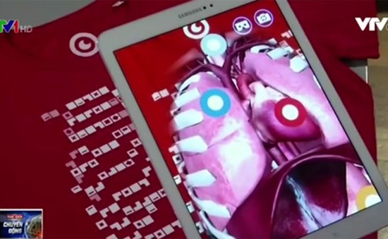 Nhìn thấu bên trong cơ thể với ứng dụng Virtuali-Tee