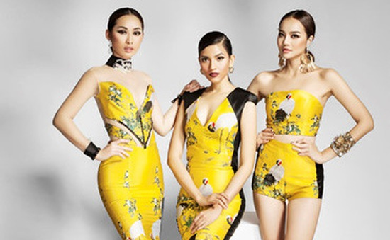 Trương Thị May đọ sắc cùng Hoa hậu Trái đất 2015 Angelia Ong