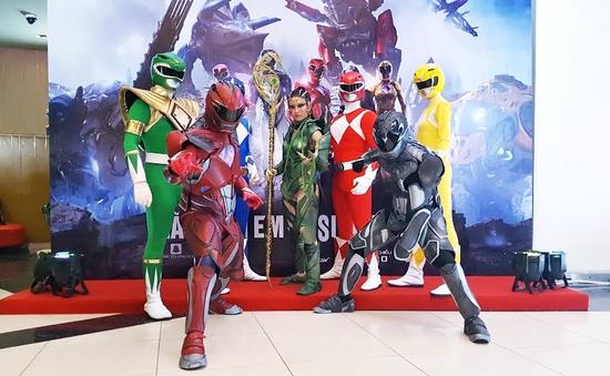 Power Rangers được fan Việt khen hết lời