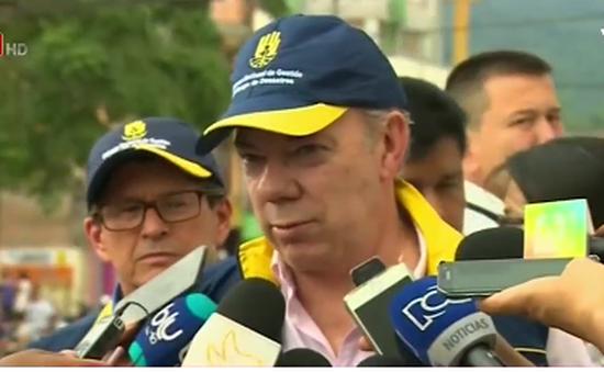 Khó khăn trong quá trình cứu trợ ở Colombia sau vụ lở đất