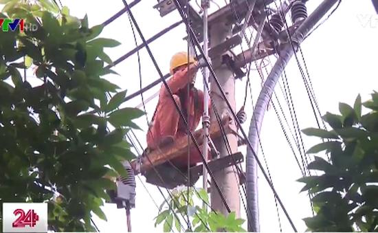 Đảm bảo an toàn điện tránh nguy hiểm mùa mưa bão