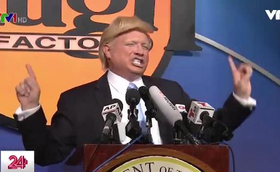 """Hàng loạt """"bản sao"""" của Tổng thống Donald Trump quy tụ ở Mỹ"""