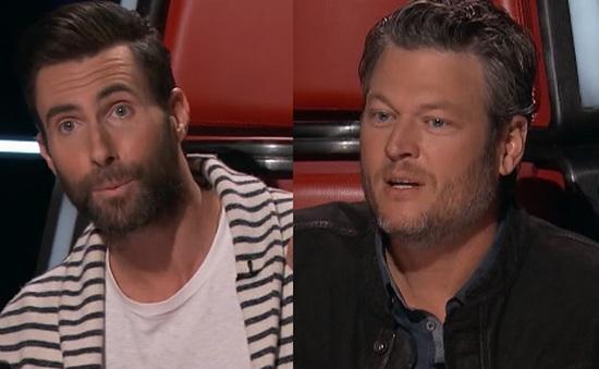 """Adam Levine """"gây chiến"""" với Blake Shelton vì thí sinh The Voice"""