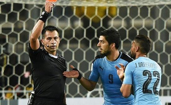Thua Peru, Uruguay sắp tuột vé dự World Cup 2018