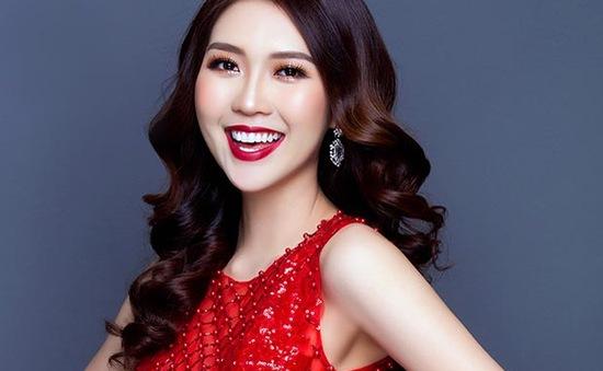 Nhan sắc hoa khôi học giỏi tham dự Hoa hậu sắc đẹp châu Á 2017