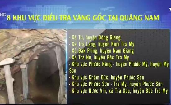 6 doanh nghiệp xin góp vốn điều tra vàng gốc ở Quảng Nam