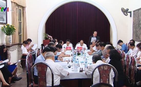 Thủ tướng làm việc với Liên hiệp các hội văn học nghệ thuật Việt Nam