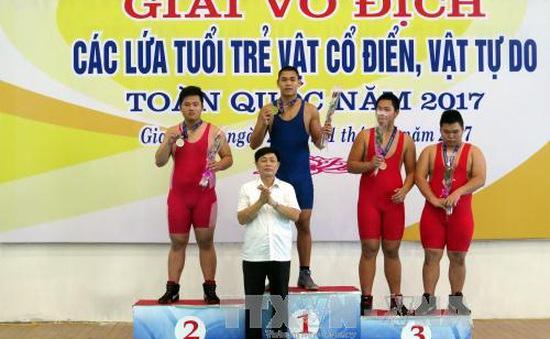 Đoàn Hà Nội dẫn đầu Giải vô địch vật các lứa tuổi trẻ, vật cổ điển, vật tự do toàn quốc 2017